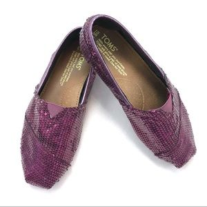 Toms Classic-Sequins Slip On